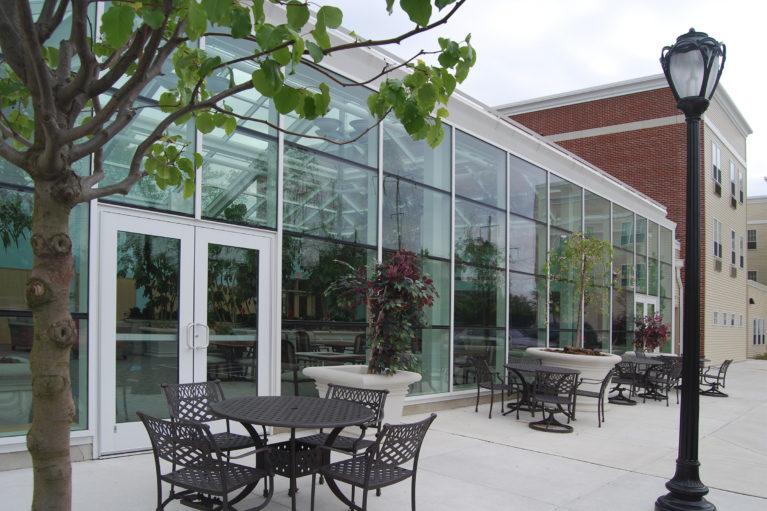 Nellie Reynolds Garden Atrium Exterior