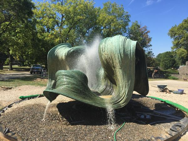Woodmere Art Museum Fountain